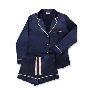 laze wear 蓝色睡衣