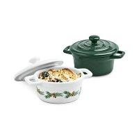 Martha Stewart Collection 陶瓷锅2件套