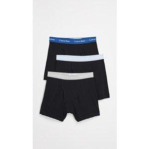 Calvin Klein UnderwearCotton 内裤3件套组