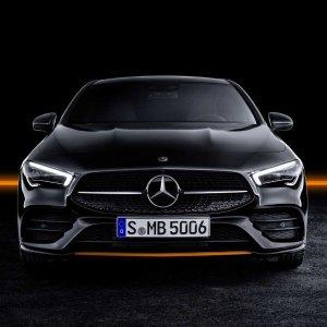 在CES上发布的奔驰车2020 Mercedes Benz CLA级轿跑新鲜出炉