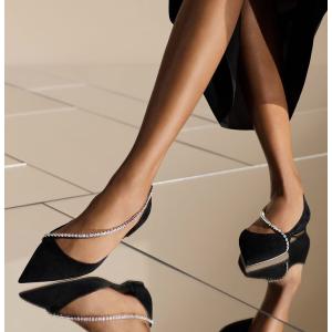 Jimmy Choo水晶平底鞋