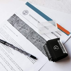 $12.99闪购:Vantamo 加宽版隐私保护印章,配补充油墨