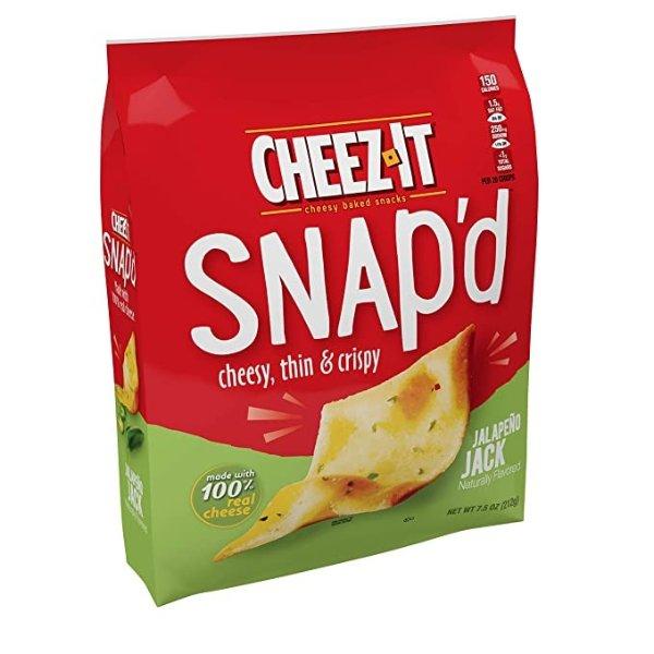 Snap'd Jalapeno Jack小饼干 7.5oz 6袋