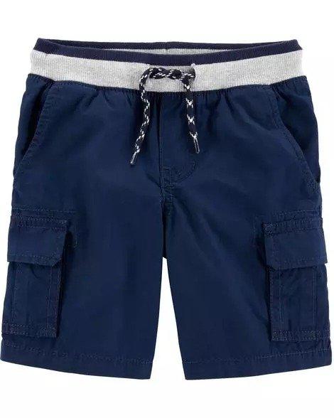 婴儿提拉布面短裤