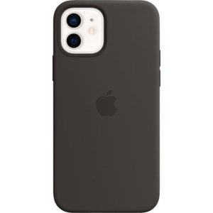Apple- iPhone 12 mini Silicone Case with MagSafe - Black