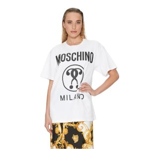 Moschino双问号T恤