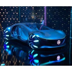智能驾驶大势所趋CES2020首日:车迷的狂欢 多款概念车畅想未来