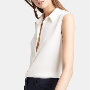 低至3折+额外8折+免邮Theory Outlet 精选春季美衣特卖 $84收连衣裙