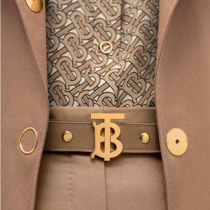 低至4折 全新设计Burberry 英伦范风衣、鞋包、配饰热促
