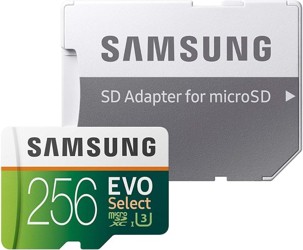 Samsung EVO Select 256GB microSDXC 存储卡