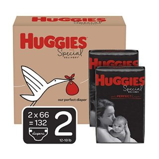 立减$8Huggies 防过敏婴幼儿尿不湿,码全