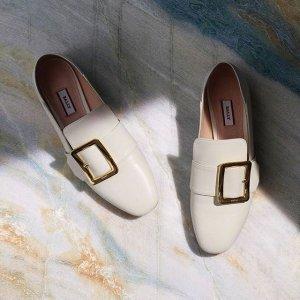 低至5折 海淘返现5%Bally 鞋包精选热卖,收经典方扣穆勒鞋,通勤舒适百搭