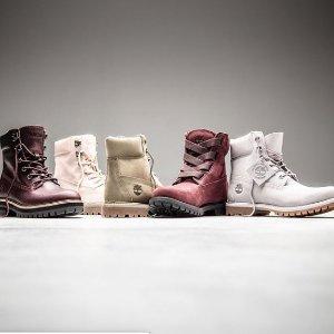 低至4折 $48起限今天:Timberland 时尚潮靴促销闪购 温暖又时尚