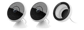 $259.99 风雨无阻的家庭安全卫士Logitech Circle 2 户内/外 防水安保摄像头 支持Alexa 2支装
