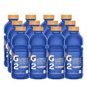 $6Gatorade G2 Thirst Quencher, Grape, 20 Ounce Bottles Pack of 12