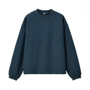 Unisex Knit Fleece Pullover