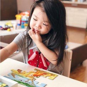 低至4.1折!€6.79起收Prime Day 狂欢价:Ravensburger 儿童益智点读书/拼图热促 让孩子快乐学习