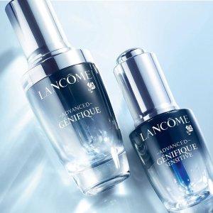 8折 大眼精华 安瓶都参与Lancome热促 小黑瓶肌底精华让年龄成秘密