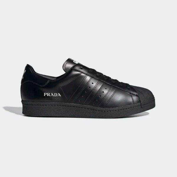纯黑贝壳鞋