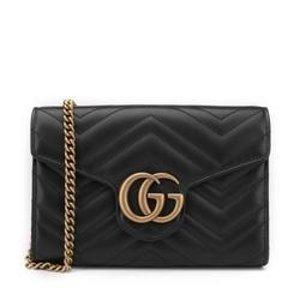 Gucci官网定价$1450GG Marmont MATELASSE mini