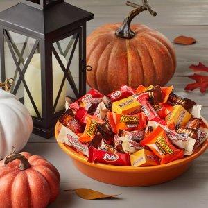 无门槛立享7折 135颗装仅$7Target 万圣节主题巧克力糖果综合分享装促销
