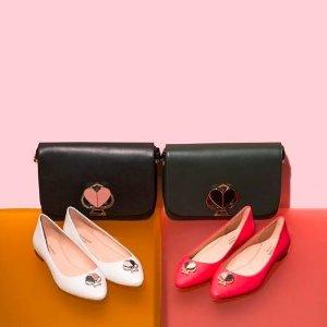 一律7折 $45.5收洗漱包Ted Baker、Kate Spade 美包,女鞋及饰品等特卖,增加穿搭细节感