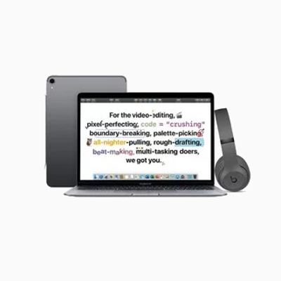 Get BeatsBuy a Mac or iPad for college