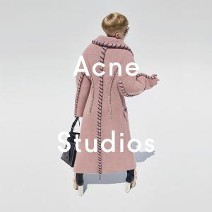 无门槛8折 T恤€88起收、囧脸帽€96入手慢无:Acne Studios 潮衣配件热卖  全网最好价快入手!