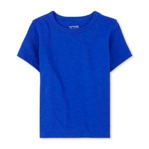 The Children's Place小童纯色T恤