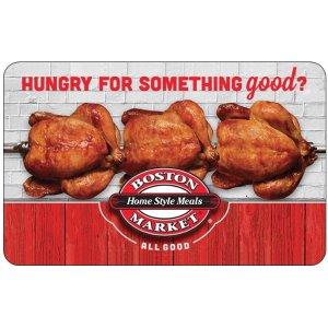 Boston Market $50 Gift Card