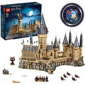 霍格沃茨城堡 71043 Castle Model Building Kit with Harry Potter Figures Gryffindor, Hufflepuff, and More