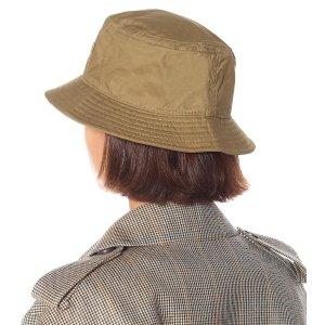 Acne Studios褐色笑脸渔夫帽
