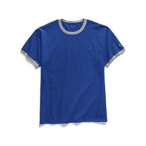 Champion3 for $30Men's Classic Jersey Ringer Tee