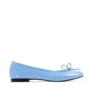 Repetto35、37、39、39.5天蓝色芭蕾舞鞋