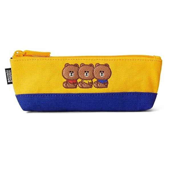 布朗熊 校园系列笔袋