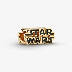 PandoraStar Wars 18k镀金logo 吊饰