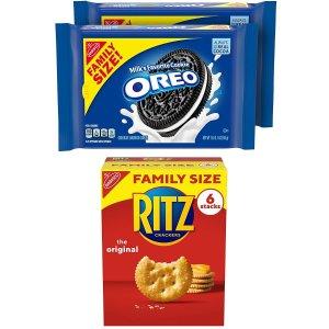 OREO奥利奥 & RITZ饼干组合三个 立减$3