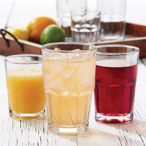 $9.32 Libbey 16-Piece Boston Drinkware Set