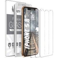 Purity iPhone 11 Pro/Xs/X 5.8吋系列 iPhone 钢化膜 3片装
