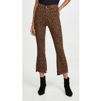 DL1961 Bridget Crop 高腰豹纹牛仔裤