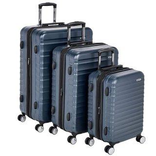 $113.24 (原价$199.99)AmazonBasics Premium 硬壳行李箱3件套,20/24/28寸