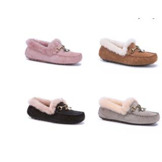 限时¥399收DIVANNA 秋冬小蜜蜂防水加绒豆豆鞋 4色可选