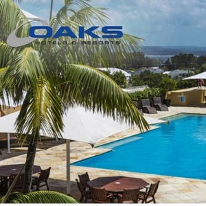 $293 (原价$816)Oaks Waterfront Resort 2人3晚住宿