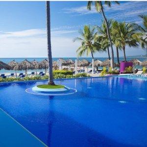$87起 含住宿+所有餐饮+水上乐园等墨西哥巴亚尔塔港4星级 Crown Paradise 全包度假村