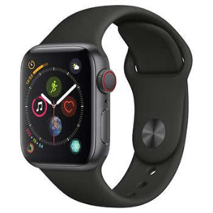 As low as $349.97Apple Watch Series 4 GPS + Cellular with Sport Band