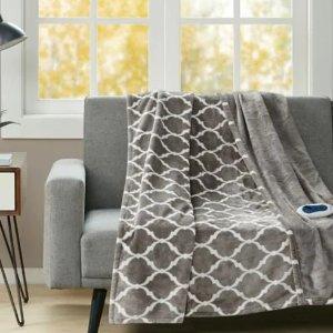 $17.99起  秋冬窝沙发必备Eddie Bauer、NHL、Distinctly Home 等品牌毛毯热卖