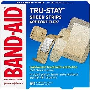 $4.79(原价$6.99)Band-Aid 邦迪创可贴 超值组合装 不同创伤需搭配合适创可贴