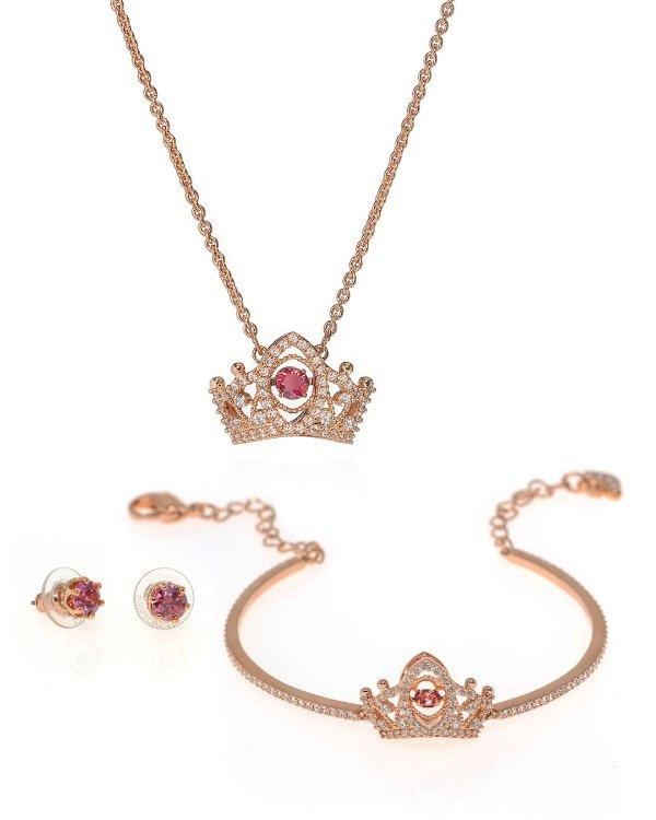 红宝石首饰四件套