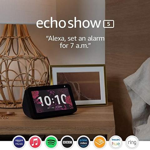 低至5折 £39收封面Echo Show 5史低价:Amazon Echo 多款智能家居好价回归 超高性价比之选