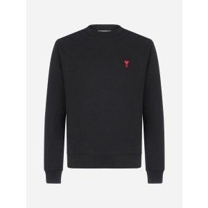 Ami ParisAmi-de-Coeur logo cotton sweatshirt